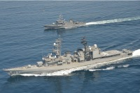 ニュース画像:護衛艦「あさぎり」、フィリピン海軍コルベットと共同訓練