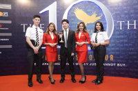 ニュース画像:エアアジア、マレーシアの消費者ブランド調査で金賞を受賞
