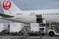 ニュース画像:JAL、外国要人来日による羽田・成田周辺混雑で早めの貨物搬入呼びかけ