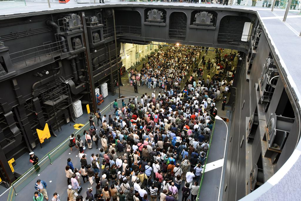 ニュース画像 1枚目:2015年の観艦式関連イベント