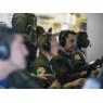 ニュース画像 2枚目:ポセイドン機内、ワークステーションの様子