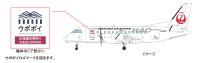 ニュース画像:JALとHAC、「ウポポイ」開設を応援 第1弾は特別塗装機の就航など