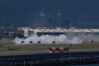ニュース画像:ブルーインパルス、観艦式で入間展開 10月11日に飛来 14日に撤収