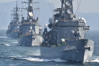 ニュース画像:観艦式事前公開、10月12日と13日は中止