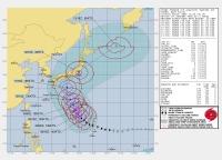 ニュース画像:猛烈な強さの台風19号、週末に本州接近 航空会社も変更に対応