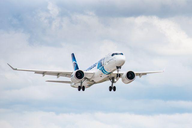 ニュース画像 1枚目:エジプト航空 A220-300