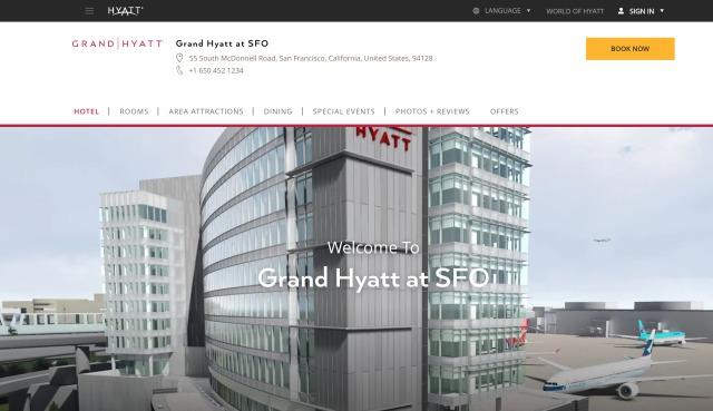 ニュース画像 1枚目:Grand Hyatt at SFO