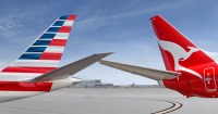 ニュース画像:アメリカンとカンタス航空、マイル特典強化と新コードシェア路線を発表