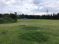 ニュース画像 1枚目:着陸地の篠島ゴルフ場跡
