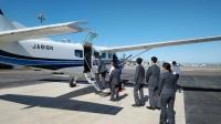ニュース画像:中日本航空、航空専門学校生を対象に体験搭乗 セスナ208で運航