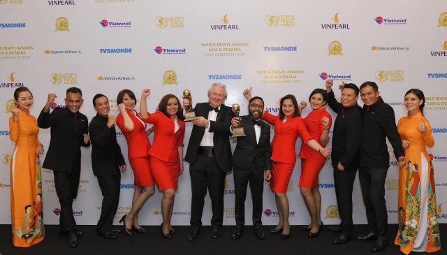 ニュース画像 1枚目:Asia's Leading Low-Cost Airline / Asia's Leading Low-Cost Airline Cabin Crew awards 受賞の様子