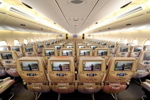 ニュース画像 3枚目:エミレーツ航空 A380のエコノミークラス