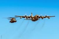 ニュース画像:イスラエル空軍、ヘリコプター空中給油演習を実施