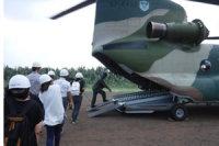 ニュース画像:南西航空方面隊、「鹿児島県離島防災訓練」に参加 F-15などを使用