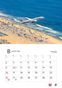 ニュース画像:JAL、10月1日から2020年版の「JALカレンダー」8種を販売