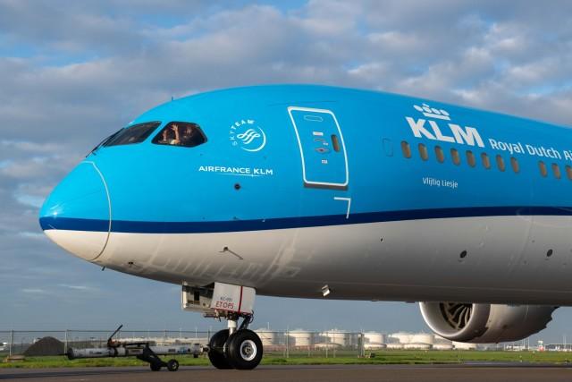 ニュース画像 1枚目:KLMオランダ航空 787-10