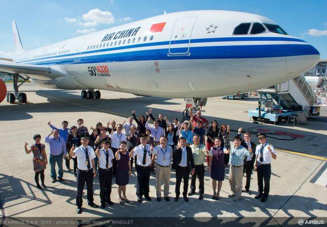 ニュース画像 1枚目:中国国際航空 A330