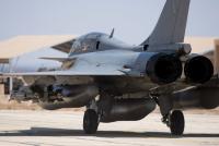 ニュース画像:フランス空軍ラファール、中東でシャマール作戦に参加