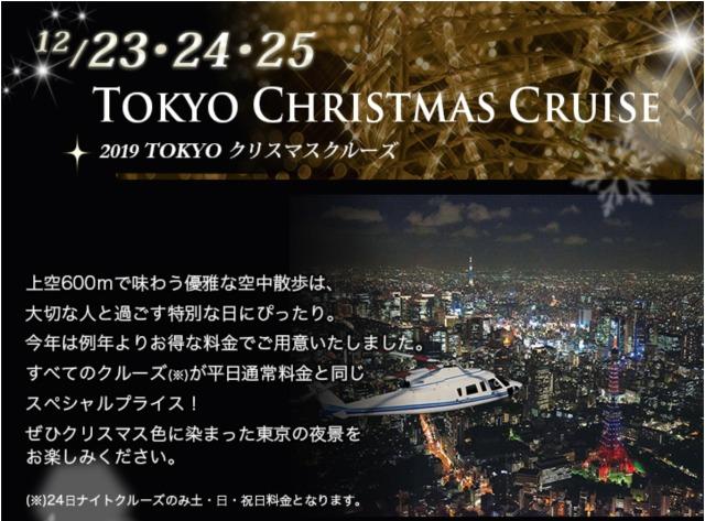 ニュース画像 1枚目:エクセル航空 - 2019TOKYOクリスマスクルーズ