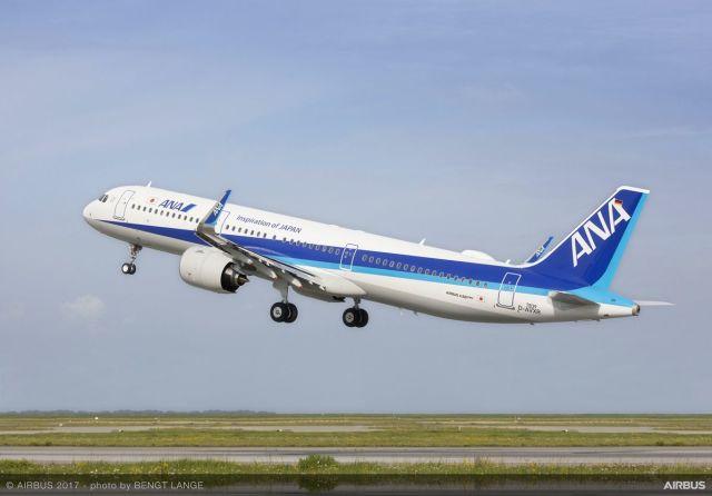 ニュース画像 1枚目:ANA A321neo