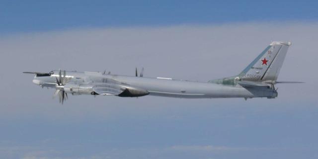 ニュース画像 1枚目:ロシア空軍 Tu-95爆撃機