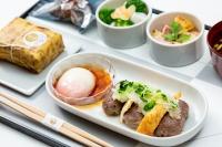 ニュース画像:JAL、11月の国内線ファースト機内食は福岡県の味 博多和牛など
