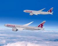 ニュース画像:カタール航空、777-8X 10機と777フレイター4機発注 パリ・エアショー