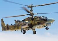 ニュース画像:Ka-52とMi-28N、超低空で射撃訓練を実施