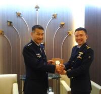ニュース画像:航空幕僚長、シンガポールとマレーシアの空軍司令官などと意見交換