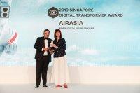 ニュース画像:エアアジア、アジア太平洋地域のデジタル・トランスフォーマー賞を受賞