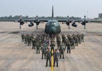 ニュース画像:空自とインド空軍の共同訓練が終了 編隊飛行や物料投下訓練を実施