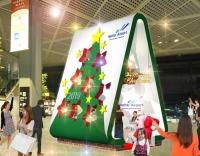 ニュース画像:成田空港、11月1日からクリスマス装飾 フォトスポットを設置