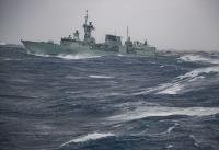 ニュース画像:やまゆき、カナダ海軍艦艇「オタワ」の訪日でホストシップ