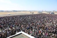 ニュース画像:小牧基地オープンベース、ブルー展示飛行に室屋選手ファンサービス