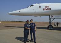 ニュース画像:ロシア航空宇宙軍Tu-160、南アフリカでデモフライトを実施