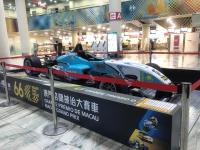ニュース画像:マカオ国際空港、F3レーシングカーを出発ロビーに展示