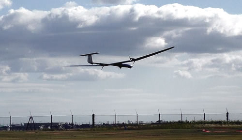 ニュース画像 1枚目:飛行試験中のXU-S