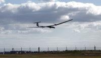 ニュース画像:新明和工業、新潟市で固定翼型無人航空機XU-S開発に向け飛行試験