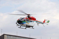 ニュース画像:愛媛県消防防災航空隊、11月10日に松山市消防局と合同訓練を実施