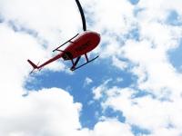 ニュース画像:つくば航空、11月9日に笠間芸術の森でR44Ⅱ遊覧飛行