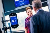 ニュース画像 1枚目:顔認識の搭乗システム、画像はデルタ航空