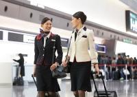 ニュース画像 2枚目:JAL客室乗務員 イメージ