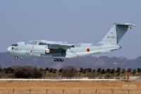 ニュース画像:空自C-2輸送機、ミャンマー寄航とドバイ・エアショー参加で国外運航