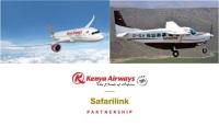 ニュース画像:ケニア航空、ケニアのサファリンク・アビエーションとコードシェアを開始