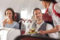 ニュース画像:オーストリア航空、ビジネスクラス機内食で世界一 スタッフ部門も欧で1位