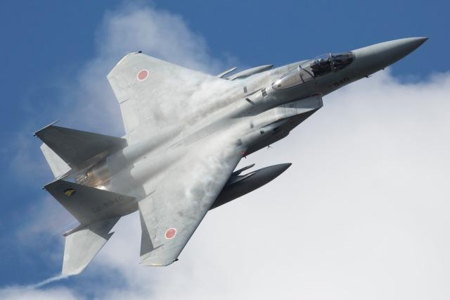 ニュース画像 1枚目:小松基地 F-15