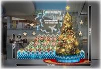ニュース画像:鹿児島空港、館内をクリスマス装飾 11月21日にツリー点灯式