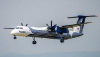 ニュース画像:ロシアのオーロラ、Q400を5機購入で覚書 ドバイエアショーで