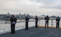 ニュース画像:揚陸強襲艦「ワスプ」、ノーフォーク海軍基地に到着