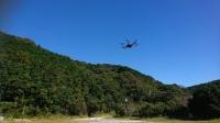 ニュース画像:熊野市で無人航空機の実証実験、観光資源の活用などで20回超フライト